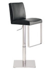 Neo Hydraulic Stool Brushed Frame Mattoe