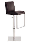 Neo Hydraulic Stool Brushed Frame Matteo