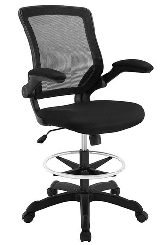 Boss Drafting Stool Black