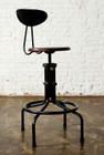 V19C-B Adjustable Height Stool