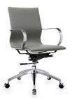 Glider Low Back Office Chair Grey By Zuo Modern