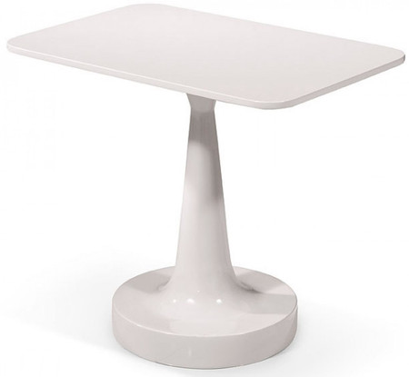 Flow Side Table WHITE