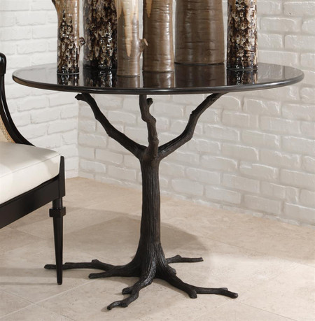 Aspen Dining Table Black Granite
