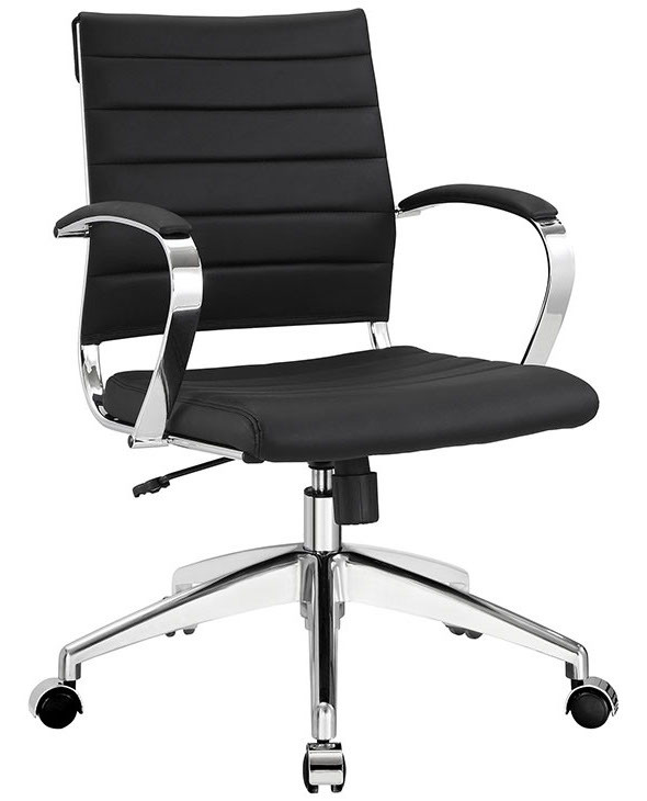 modway jive office chair mid back - home office furniture