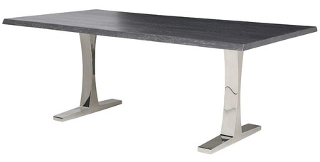 Toulouse Dining Table Oxidized Grey