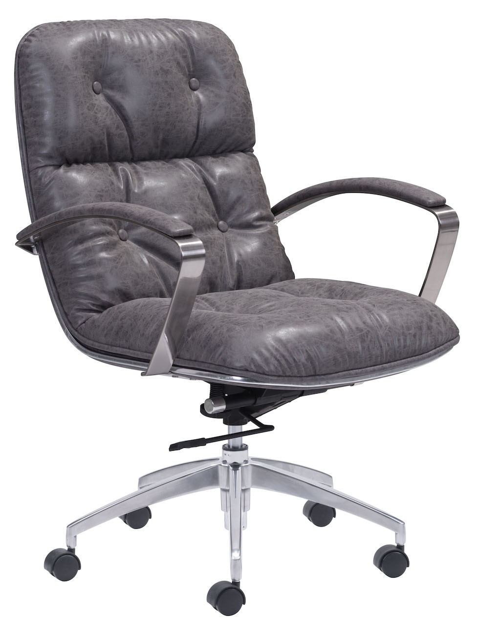 vintage office chair. Contemporary Vintage Avenue Office Chair Vintage Gray Inside I