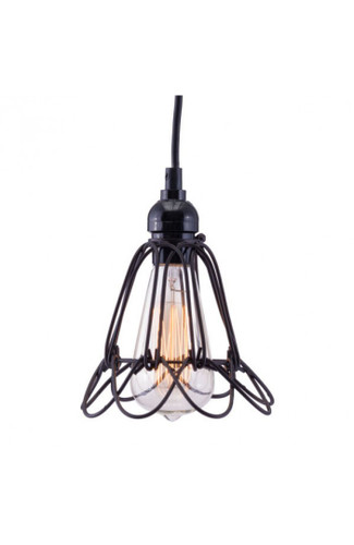 Hastings Ceiling Lamp Distressed Black