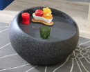 granite end table
