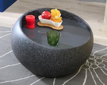 granite end table