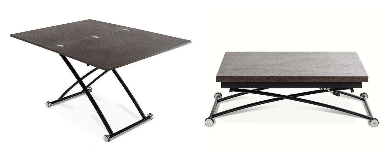 Extendable Coffee Table studio coffee table extendable top - modern extendable table