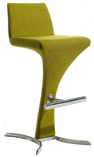 olive green bar stool