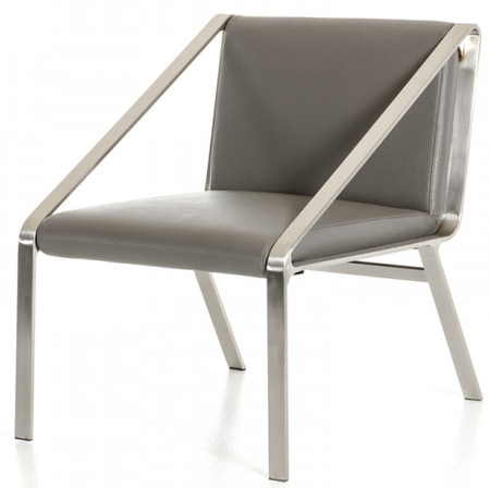 accent chair in grey