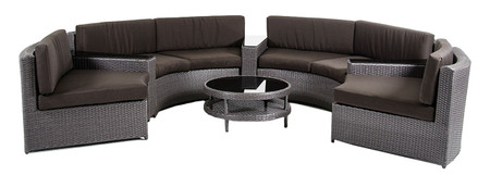 round patio sectional