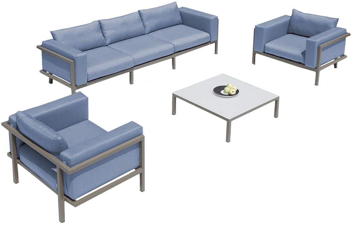 Maldives 5pc Outdoor Patio Set Patio Furniture Set