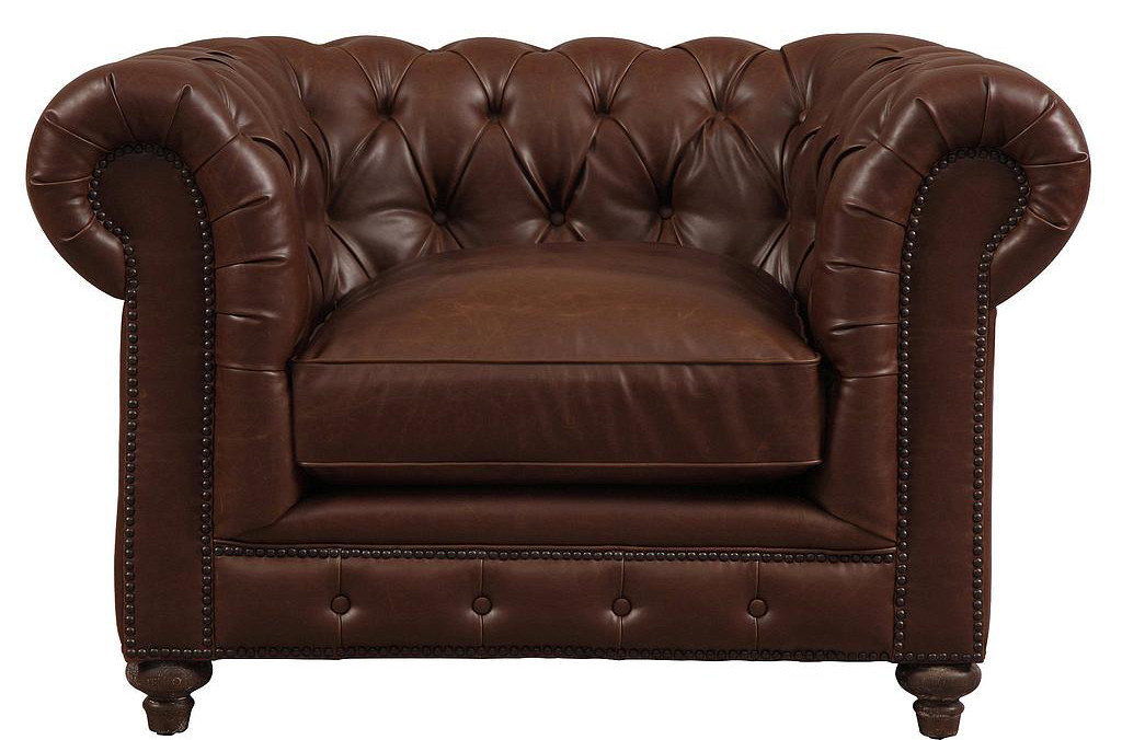 Leather Chesterfield Style Sofa Nocidesign Leather