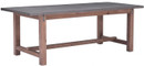 Greenpoint Dining Table Gray & Distressed Fir