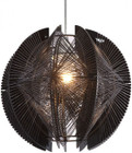 ZUO MODERN CENTARI SINGLE CEILING LAMP BLACK