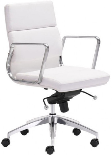 Engineer Low Back Office Chair White