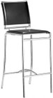 Zuo Modern Soar Bar Chair Black