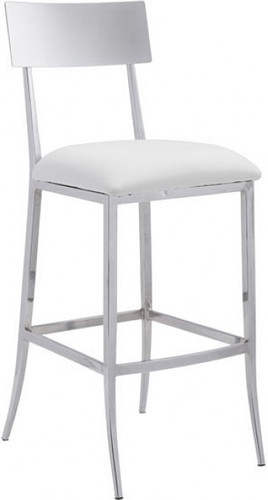 Mach Bar Chair White