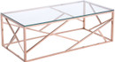 Cage Coffee Table Rose Gold