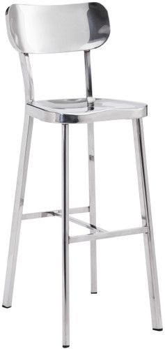 Zuo Modern Winter Bar Chair