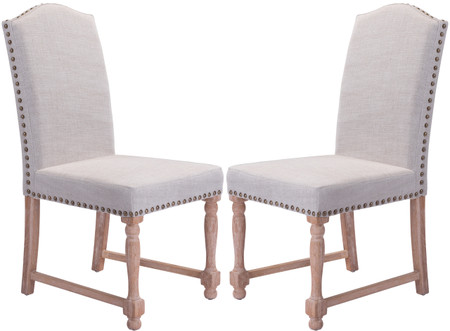 Zuo Modern Richmond Dining Chair Beige