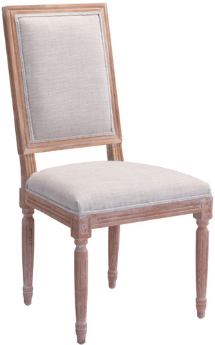 Zuo Modern Cole Valley Dining Chair Beige