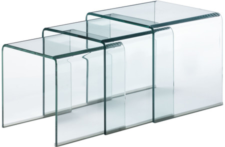 zuo explorer nesting tables clear