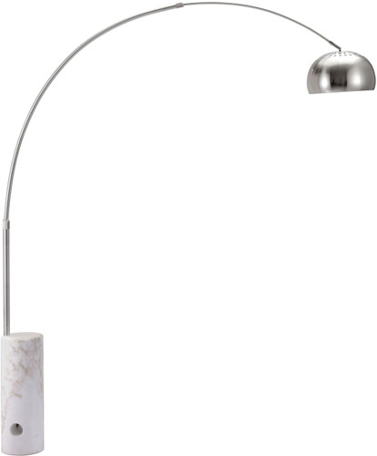Trion Floor Lamp Chrome