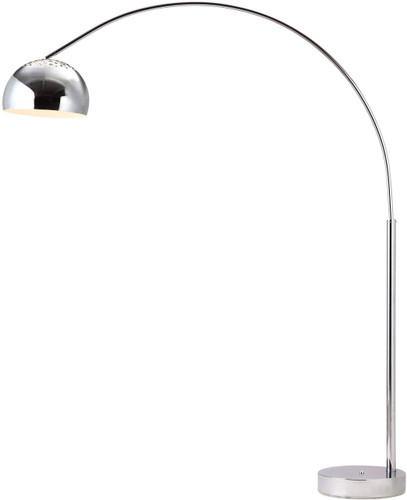zuo galactic floor lamp chrome
