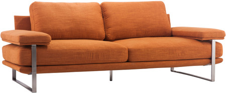Zuo Modern Jonkoping Sofa Orange