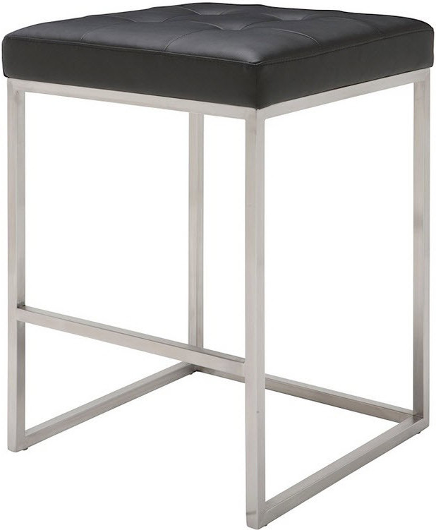 Chi Counter Stool Black White Grey Nuevo Living