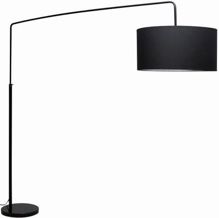 Nuevo Living Raku Floor Lamp In Black