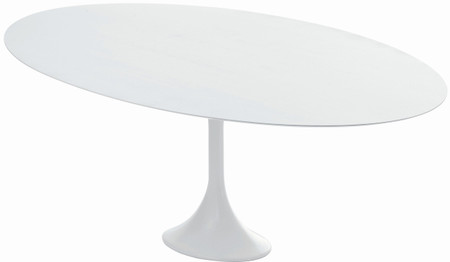 Echo Dining Table In White