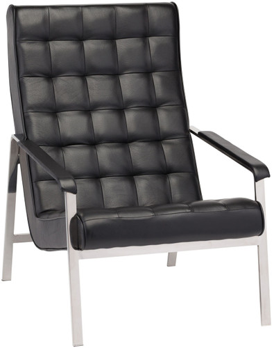 Quentin Lounge Chair Black