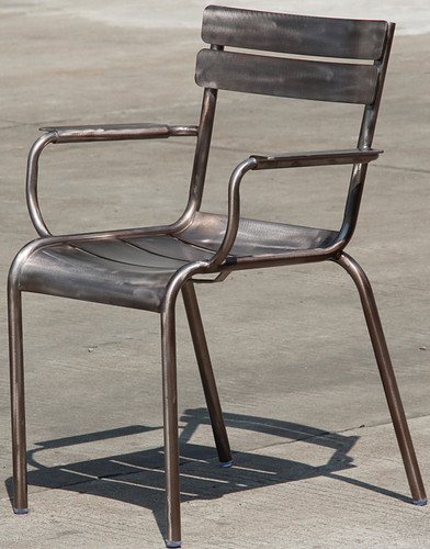 Marcel Dining Chair Gunmetal