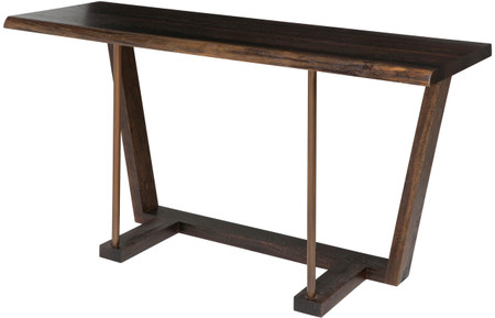 Kava Console Seared Oak
