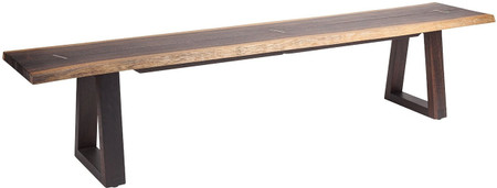 Napa Dining Bench Seared Oak