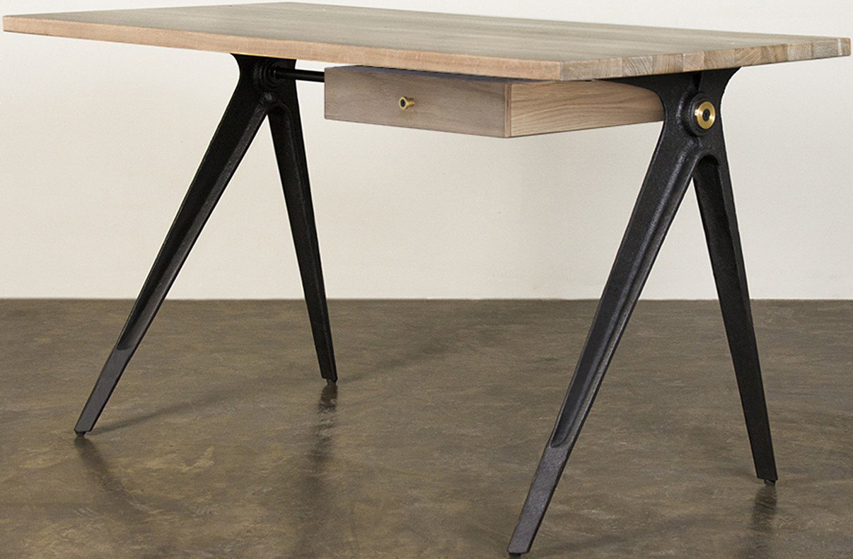 compass desk contemporary industrial design