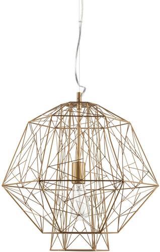 Nuevo Zeus Pendant Lamp In Gold
