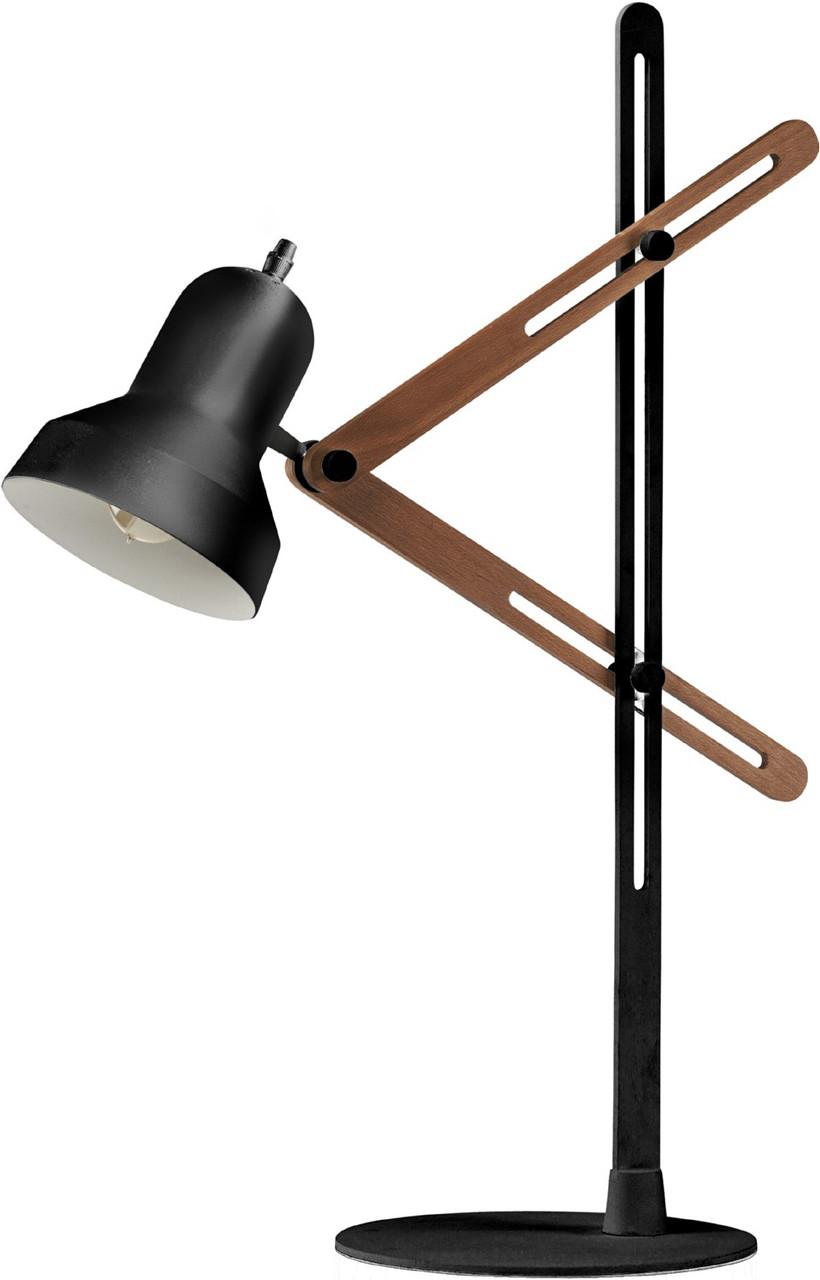 Jethro Table Lamp Black Or White Scissor Table Lamp