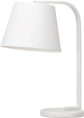 White Beton Table Lamp