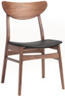 Colby Dining Chair In Walnut