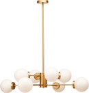 Dyland Pendant Lamp In Matte Gold