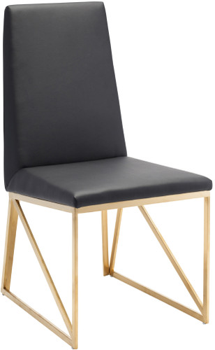 Nuevo Caprice Dining Chair In Black