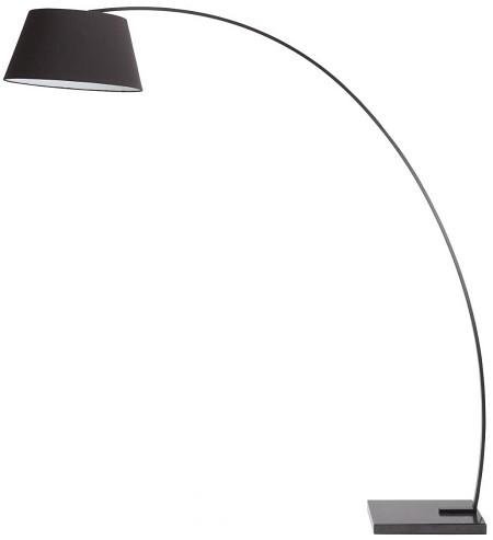 Nuevo Evan Floor Lamp Black