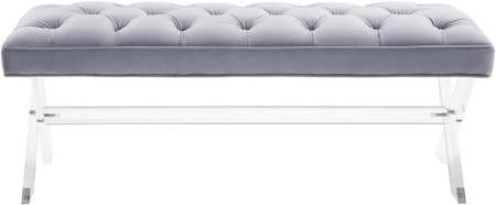 Claudia Bench Grey