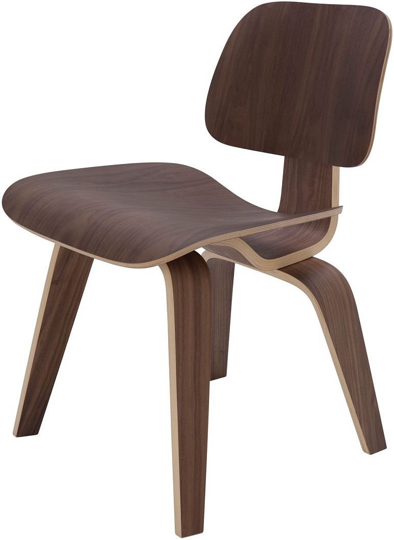Sophie Dining Chair Eames Style Molded Plywood Dining Chair