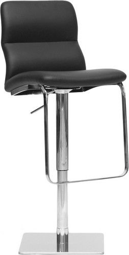 Helsinki Black Modern Bar Stool